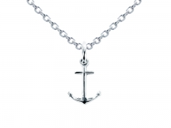 "Collier argent 925 ""Ancre"""