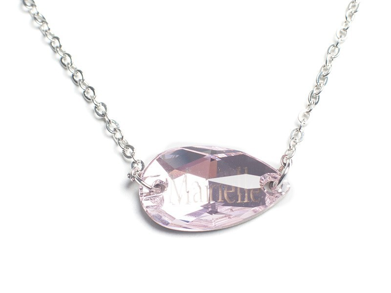 Collier L&R made with SWAROVSKI ELEMENTS